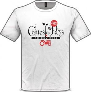 T-Shirt Contes en Pays